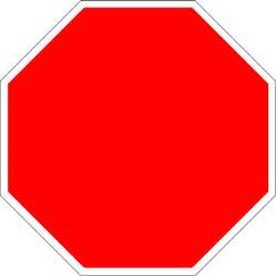 Blank Stop Sign Clip Art Free