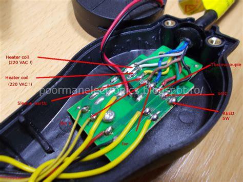 Circuit Diagram Hot Air Gun