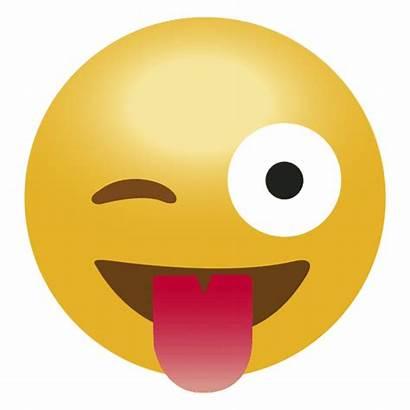 Emoji Transparent Tongue Lengua Svg Laugh Risa