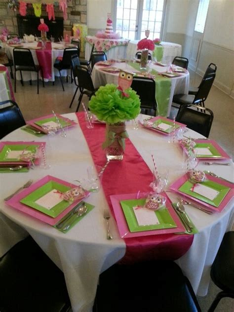 baby shower table settings photos baby shower table setting babies pinterest