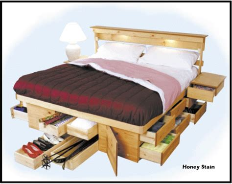 Bed Frames With Built-in Storage