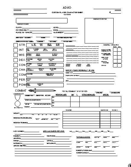 birds of a writer writing tips character sheets