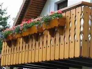 Balkon Handlauf Holz : holzbau hermann demattio sohn balkone ~ Lizthompson.info Haus und Dekorationen