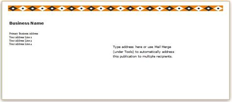 Envelope Address Template 40 Editable Envelope Templates For Ms Word Word Excel