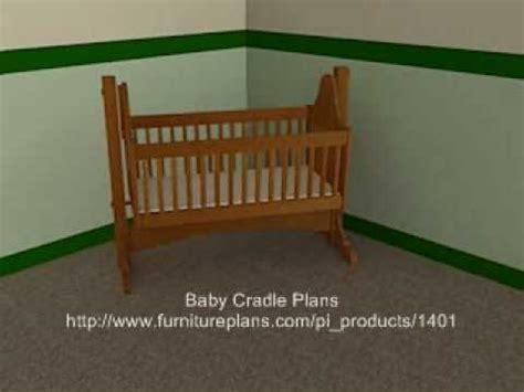 baby cradle plans youtube