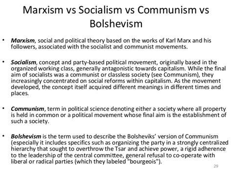 Socialism And Communism Venn Diagram