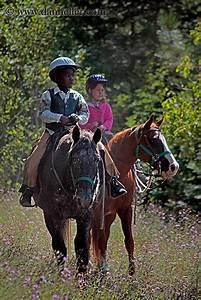 Kids Riding Horses 2