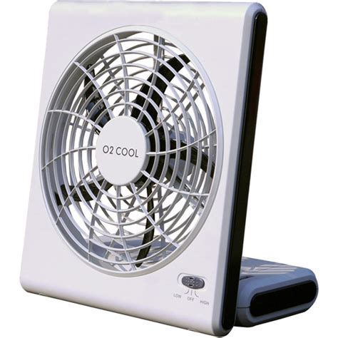 16 inch battery operated fan o2 cool 8 quot battery or electric portable fan walmart com