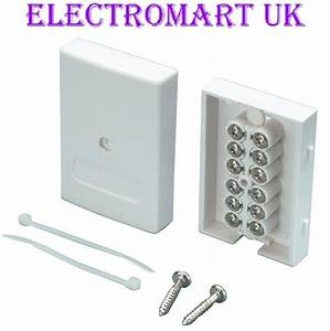 Bt Telephone Alarm Cable Junction Box Easy Fit Screw