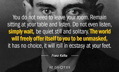 Kafka Quotes Top 25 Quotes By Franz Kafka Of 420 A Z Quotes