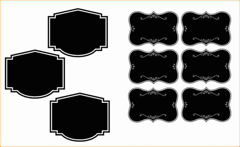 blank label template printable label templates
