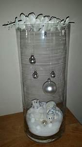 Die Schönsten Weihnachtsdekorationen : mit hohen glasvasen machen sie die sch nsten winterdeko tischaufs tze f r ihr zuhause diy ~ Markanthonyermac.com Haus und Dekorationen