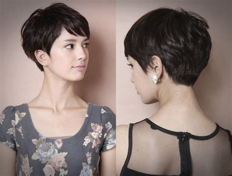 gambar model rambut pendek cepak wanita  kekinian