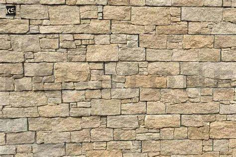 mur de parement en pierres naturelles beiges wallstone