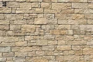 Mur Pierre Apparente : mur de parement en pierres naturelles beiges wallstone ~ Premium-room.com Idées de Décoration