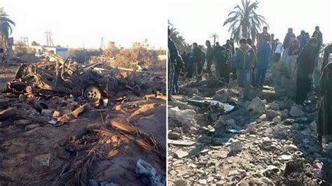 Serangan Udara As Tewaskan 40 Orang Di Shabrata Libya