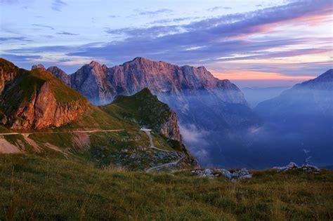 mountains, Nature, Haze, Landscape, Gorge Wallpapers HD ...
