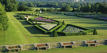 long view  parterre  terrace  cliveden grade