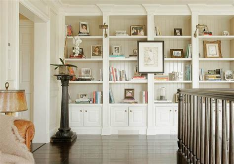 Beadboard Bookcase : Built Ins Design Ideas