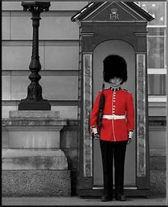 On Guard, Buckingham Palace Guard - PopArtUK