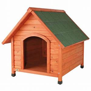 TRIXIE Log Cabin Large Dog House-39532 - The Home Depot