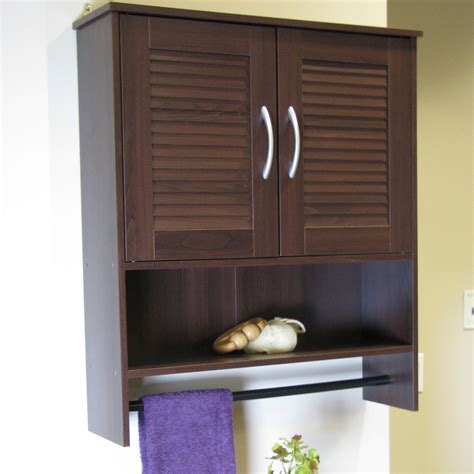4d Concepts Bathroom Wall Cabinet With Two Louvered Doors