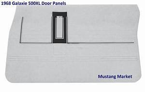 1968 Ford Galaxie Quarter Panels