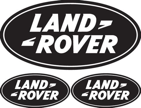 land rover logo jdp signs 3x land rover logo external vinyl stickers