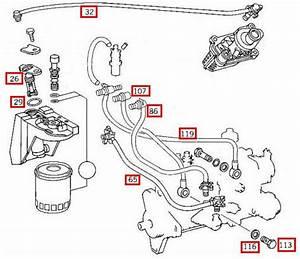 Mercedes Benz E300 Diesel Fuel System Diagram