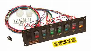 8 Switch Panel    Non  Dash Mount  Use W  50001