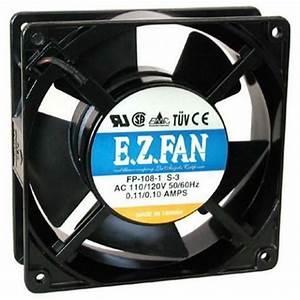 1  115 Vac 120 Mm Cooling Fan