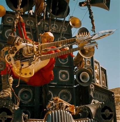 Guitar Mad Max Animated Road Fury Gifs