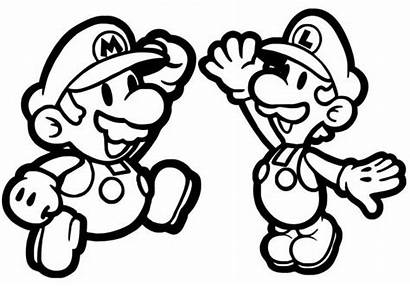 Nintendo Coloring Pages Others Printable Super Team