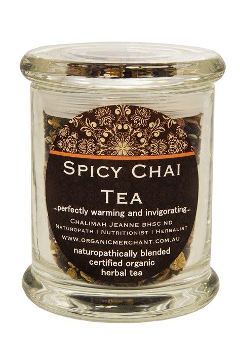Organic Merchant Spicy Chai Tea