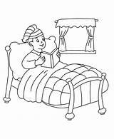 Bed Cama Coloring Colorear Go Bunk Lit Dibujos Ir Dibujar Template Levantandose Pintar Drawing Imagenes Coloriages Imagui Colouring Beds Printable sketch template