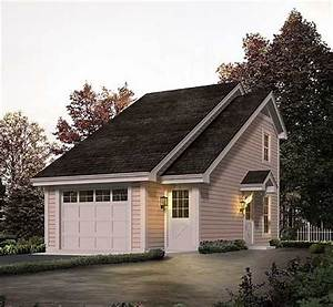 Plan 57156HA: Studio Apartment Garage With Office Garage