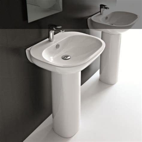 Waschtisch Mit Standsäule by Wandstehende Waschbecken Baederdesign Info Hersteller