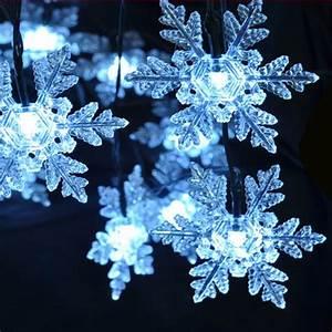 Lichterkette Außen Weihnachten : led solar lichterkette wei schneeflocke weihnachten au enbeleuchtung dekoration ebay ~ Frokenaadalensverden.com Haus und Dekorationen