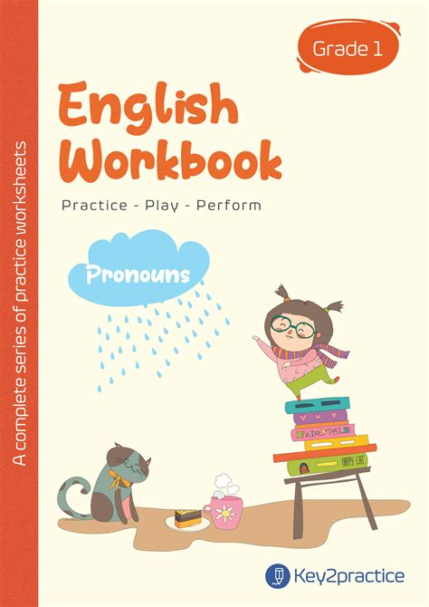 english worksheets grade  workbook  pronouns keypractice
