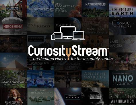 CuriosityStream™ Announced by John Hendricks