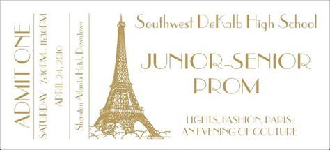 prom ticket template prom ticket idea prom ticket design proms tickets and ticket template