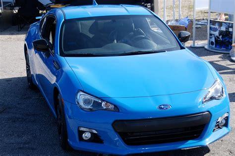 Hyper Blue Color Added To 2016 Subaru Brz