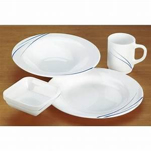 Lot De Vaisselle Pas Cher : vaisselle incassable pour camping car table de cuisine ~ Teatrodelosmanantiales.com Idées de Décoration