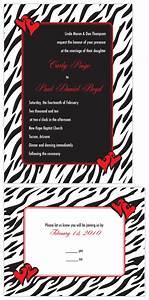wedding invitations wildly in love zebra print with With email wedding invitations tacky