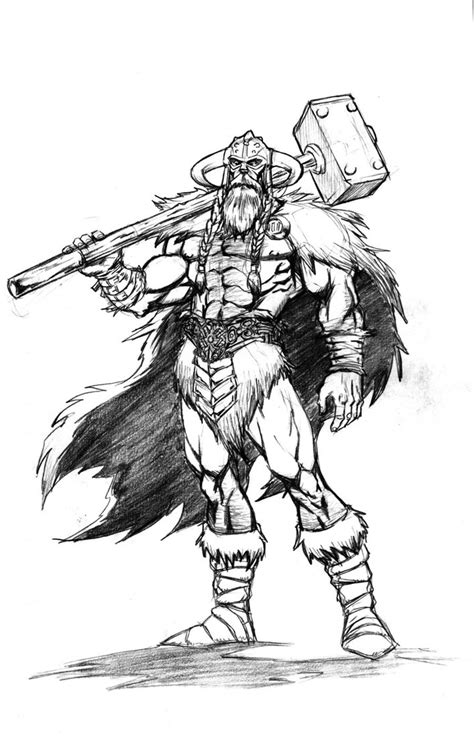 thor god of thunder by vintonheuck on deviantart