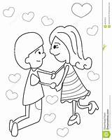 Coloring Hands Holding Boy Hand Cartoon Anime Drawing Drawn Pages Boys Couples Printable Draw Hearts Illustration Getdrawings sketch template