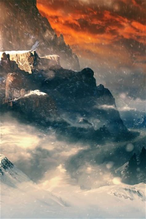 misty mountain hd wallpapers