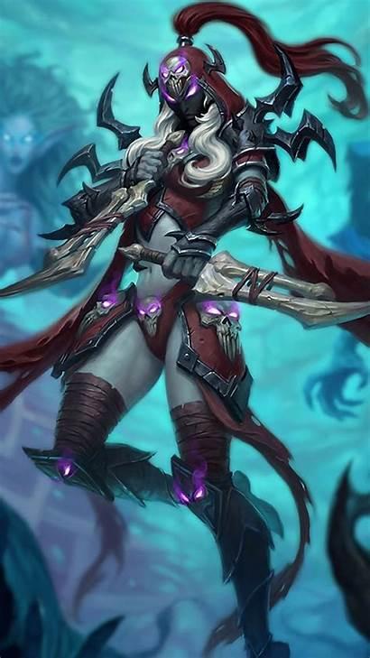 Hearthstone Knights Frozen Throne Wallpapers Warcraft Female