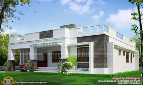 inspiring elegant house plans  single floor house front
