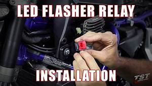 How To Install Led Flasher Relay On A 2015  Yamaha Fz